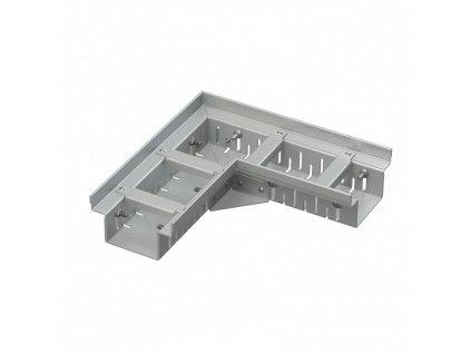 ALCA PLAST Drenážní žlab rohový 100 mm nastavitelný, pozinkovaná ocel ADZ102VR