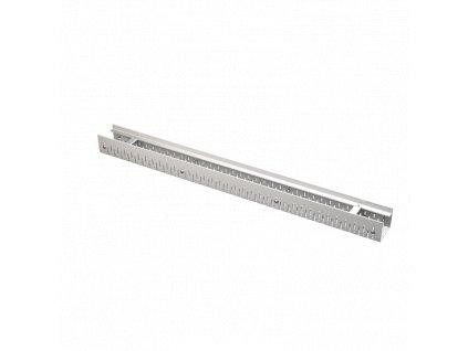 ALCA PLAST Drenážní žlab 75 mm nastavitelný, nerez ADZ301V