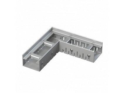ALCA PLAST Drenážní žlab rohový 75 mm nastavitelný, nerez ADZ301VR