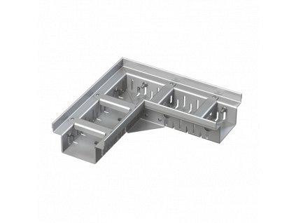 ALCA PLAST Drenážní žlab rohový 100 mm nastavitelný, nerez ADZ302VR