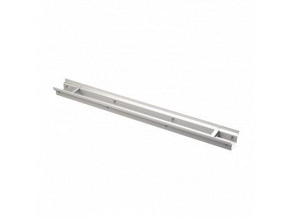 ALCA PLAST Drenážní žlab 100 mm nastavitelný, nerez ADZ332V