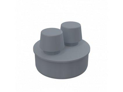 ALCA PLAST Přivzdušňovací hlavice DN110 APH110