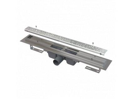 ALCA PLAST Podlahový žlab Antivandal s roštem APZ11-750L