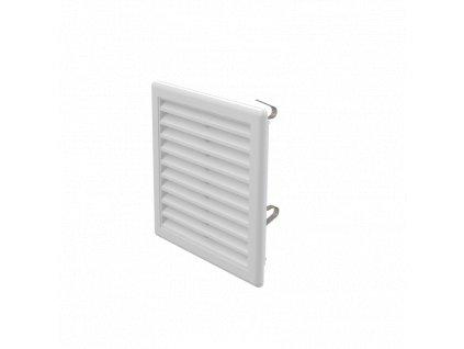 ALCA PLAST Větrací mřížka 150×150 mm s pružinkami AVM150