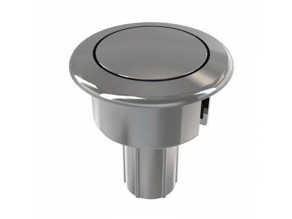 ALCA PLAST Tlačítko kompletní chrom (A05) P0014-ND