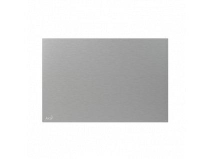 ALCA PLAST Krycí deska pro předstěnové instalační systémy, alunox-mat P120
