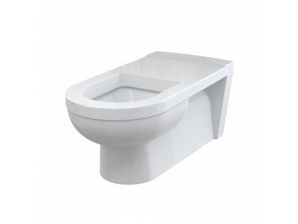 ALCA PLAST WC závěsné pro osoby se sníženou hybností WC Alca MEDIC