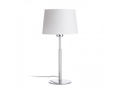 RENDL BROADWAY stolní bílá chrom 230V E27 42W R11986