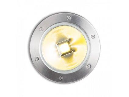 RENDL TERRA zápustná nerezová ocel 230V LED 20W 120° IP67 3000K R10532