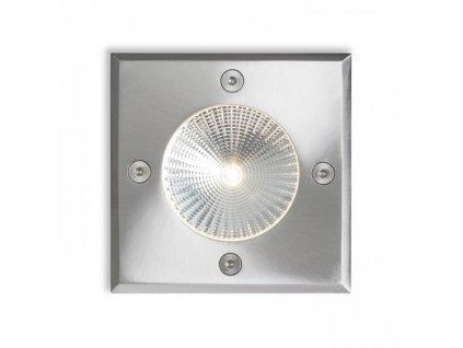 RENDL RIZZ SQ 105 nerezová ocel 230V LED 3W 96° IP65 3000K R10436