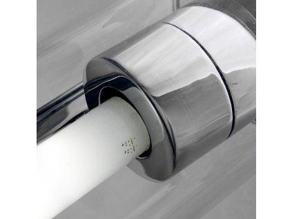 RENDL RIVIER nástěnná čiré sklo/chrom 230V G5 21W R10237