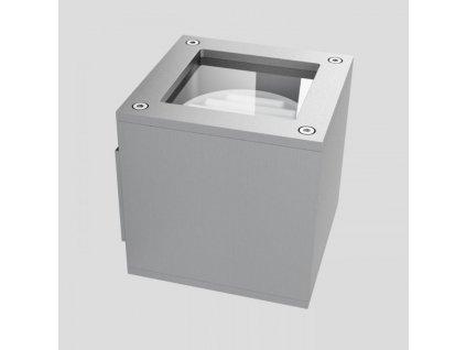 RENDL DIBI DUO nástěnná hliník 230V GX53 2x7W R10174