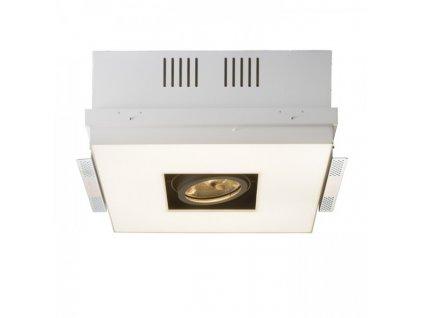 RENDL OFFICE TWIN zápustná bílá 230V/12V 2GX13+G53 55+50W R10150