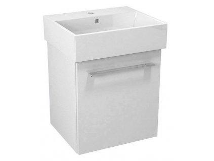 NATY umyvadlová skříňka 46,5x50x40cm, bílá (NA051)