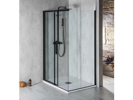 ALTIS LINE BLACK obdélníkový sprchový kout 1100x1000 mm, L/P varianta