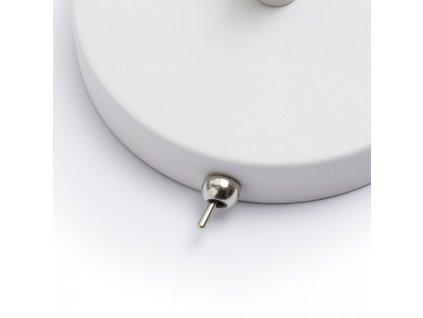 RENDL ANTE nástěnná bílá matný nikl 230V E27 28W R12652