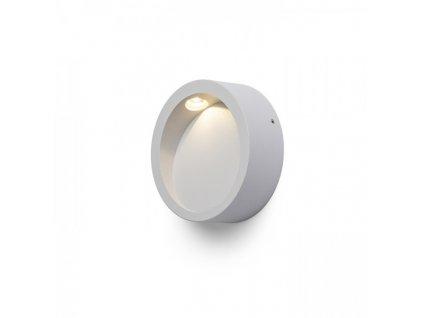 RENDL AMBER nástěnná šedá 230V LED 3W 3000K R12610