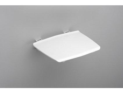 GELCO GELCO sklopné sedátko do sprchového koutu 32,5x32,5 cm, bílá