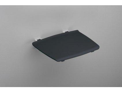 GELCO GELCO sklopné sedátko do sprchového koutu 32,5x32,5 cm, tmavě šedá
