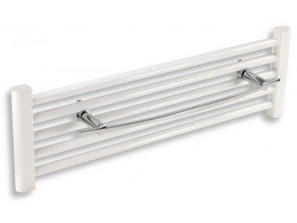 NOVASERVIS Držák ručníků na otopný žebřík 550 mm Metalia 2 chrom 6227/1,0