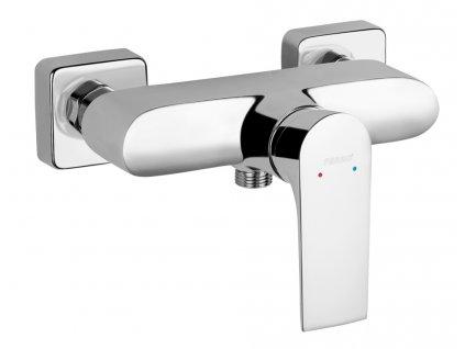 NOVASERVIS Nástěnná sprchová baterie bez přísl. ALGEO SQUAR chrom 82061/1,0