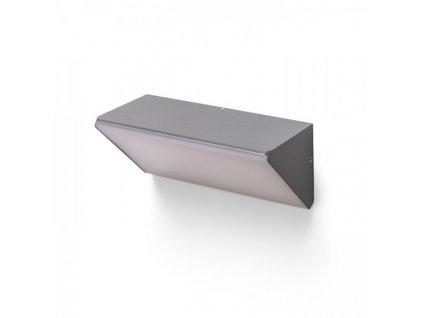 RENDL ANDANTE nástěnná antracitová matny akryl 230V LED 21W IP65 3000K R13504