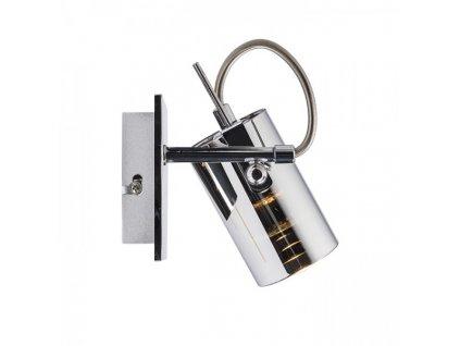 RENDL BUGSY I nástěnná chromované sklo 230V GU10 50W R10521