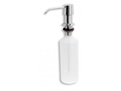 NOVASERVIS Dávkovač prostředku na mytí nádobí, objem 500 ml chrom 69037-0