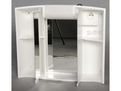 ANGY galerka 59x50x15cm, 1x12W, bílá plast