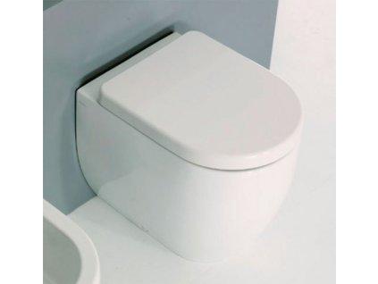 FLO WC mísa 36x42x51,5cm, spodní/zadní odpad