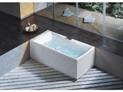 ALIA obdélníková vana 170x80x45cm, bílá