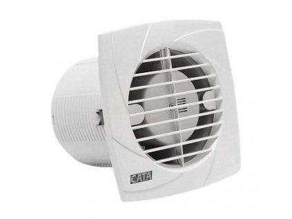 B-12 PLUS T koupelnový ventilátor s časovačem, 20W, potrubí 120mm, bílá