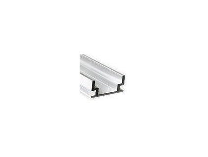 LED zápustný profil 19,2x8,5mm, hliník, 2m