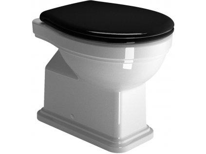 CLASSIC WC mísa 37x54 cm, zadní odpad, bílá ExtraGlaze