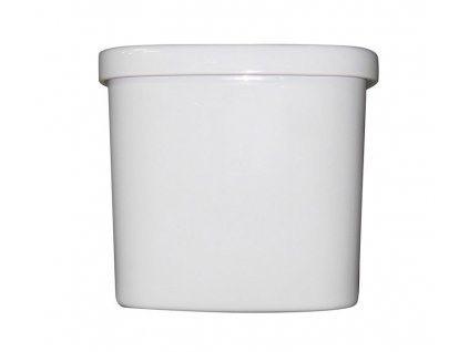CLASSIC splachovací nádržka vysoká, bílá ExtraGlaze