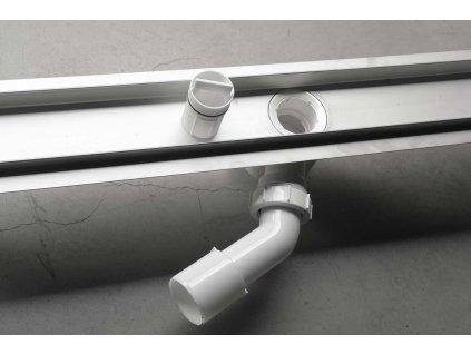 BUCANERA nerezový sprchový kanálek s roštem, 800x110x90 mm
