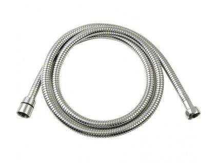 LUX opletená sprchová hadice, roztažitelná 200-240cm, chrom