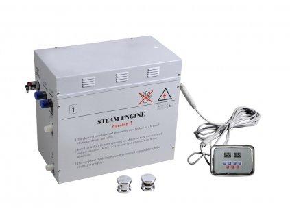 Generátor páry 12 kW, včetně ovládání