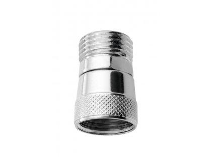 Mezikus proti přetočení sprchové hadice 1/2', ABS/chrom