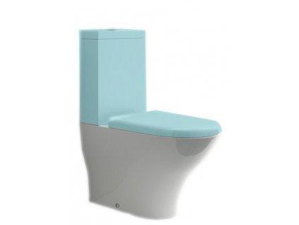 AQUATECH WC kombi mísa 36,5x42x65cm, spodní/zadní odpad