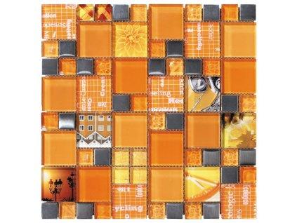 CARNAVAL Orange 30X30