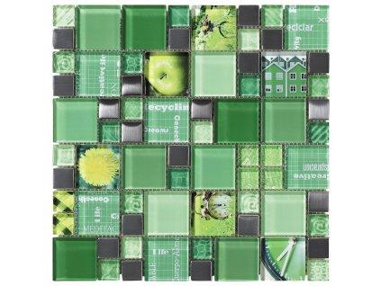 CARNAVAL Green 30X30