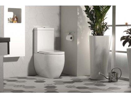 Kombi WC Flo,spodní/zadní odpad