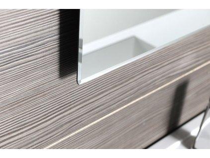 ACCORD zrcadlo s fazetou 700x900mm, zakulacené rohy, bez úchytu