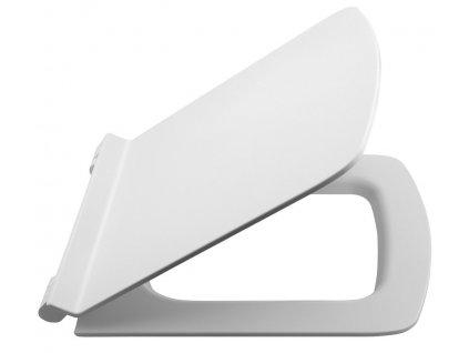 PURITY WC sedátko SLIM Soft Close, duroplast, bílá