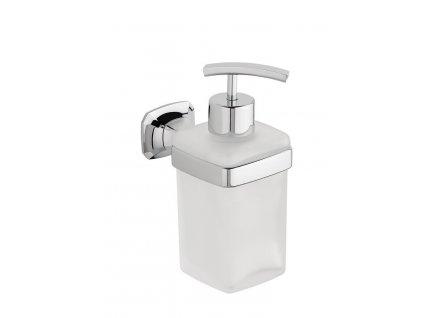 AIDA dávkovač mýdla, chrom/mléčné sklo