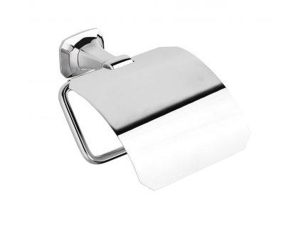 AIDA držák toaletního papíru s krytem, chrom