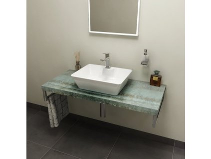AVICE deska 110x50cm, aquamarine