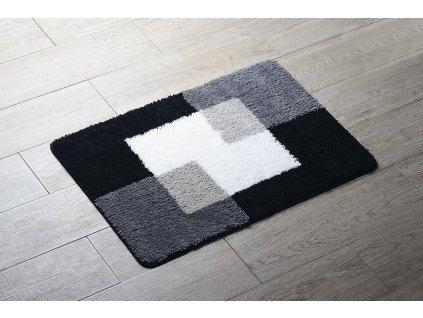 COINS předložka 55x50cm s protiskluzem, polyester, šedá