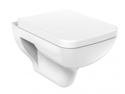 BENE závěsná WC mísa, 35,5x51 cm, bílá